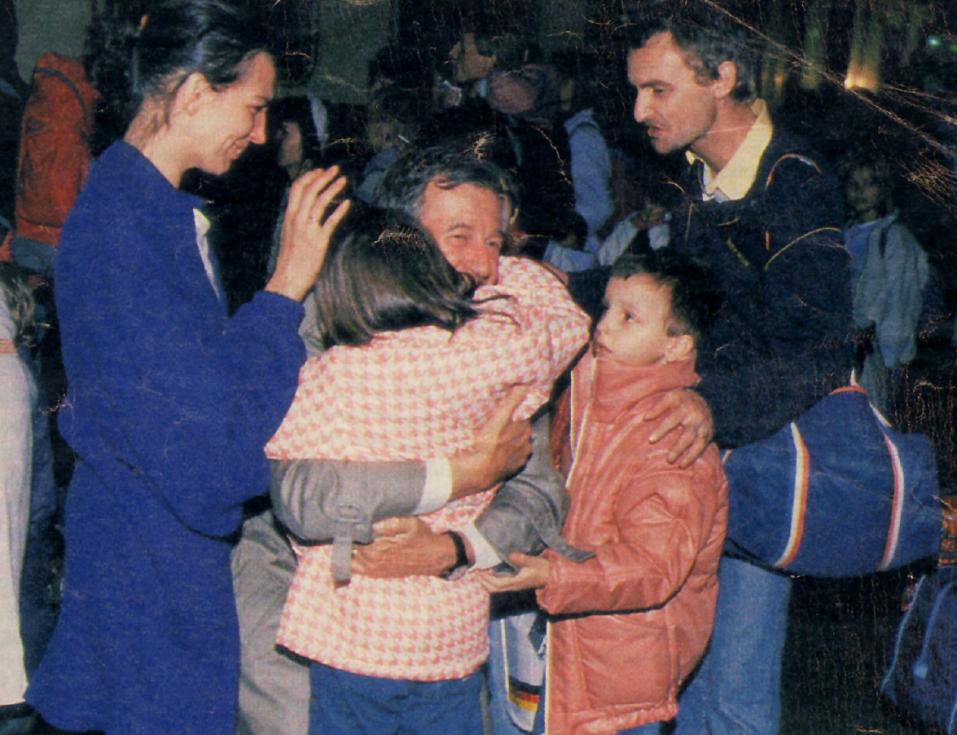 Katharina se loučí s velvyslancem Huberem