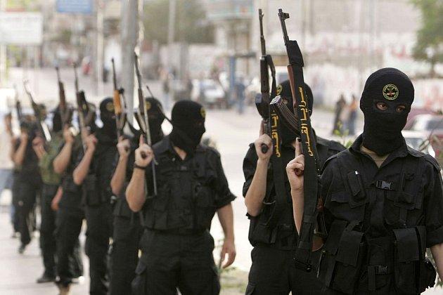 S příměřím souhlasily údajně i radikální palestinské skupiny, včetně Islámského džihádu (na ilustračním snímku v Gaze z počátku tohoto týdne).