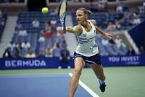 Česká tenistka Karolína Plíšková ve 2. kole US Open.
