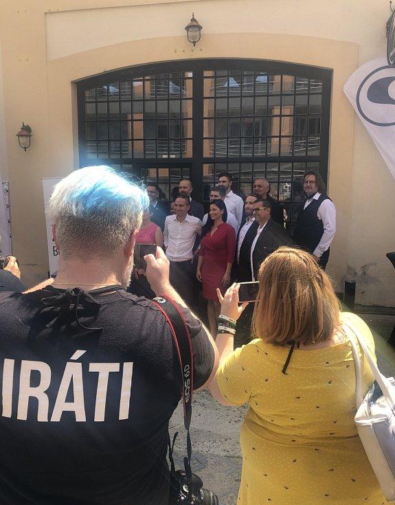 Piráti zahájili předvolební kampaň.