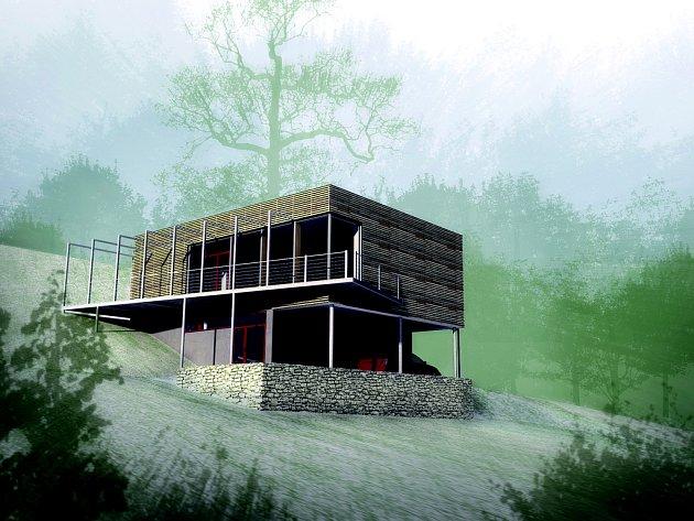 Dřevostavba využívající pasivní sluneční energii architektky Hany Urbáškové získala  2. cenu v soutěži ROCKHOUSE – český nízkoenergetický dům 2009.