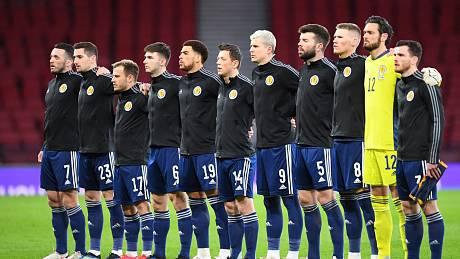 Skotská reprezentace.