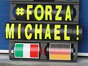 Michael Schumacher ještě v barvách Mercedesu.