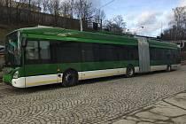 Plzeňská Škoda Electric vyvinula a vyrobila nový trolejbus Škoda 35 Tr.