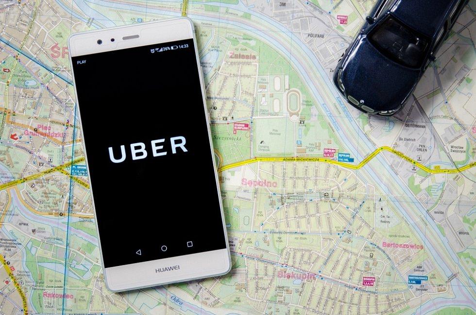 Společnost Uber - Ilustrační foto