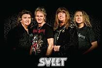 Britská glam rocková hudební skupina The Sweet.