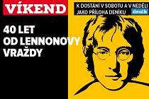 Čtyřicet let od vraždy Johna Lennona, upoutávka na magazín Víkend.