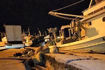 Zemětřesení na řeckém ostrově Zakynthos