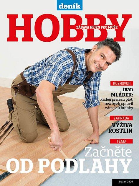Titulní strana magazínu Hobby