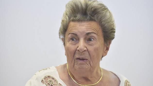 Psycholožka Jiřina Prekopová (na snímku z 13. října 2019) zemřela 7. září 2020 v Praze. Bylo jí 90 let. Dětská psycholožka byla autorkou takzvané školy lásky a terapie pevným objetím.