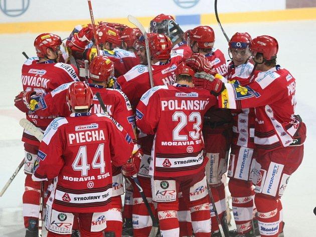 Hokejisté Třince porazili Mladou Boleslav.