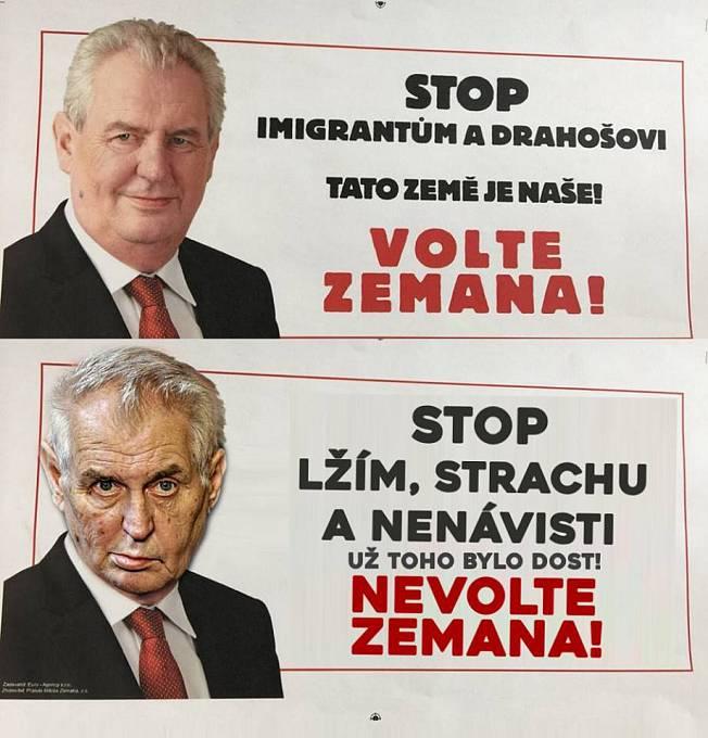 Negativní kampaň Spolku přátel Miloše Zemana proti Jiřímu Drahošovi vyvolala na sociálních sítích okamžitě tvorbu ironických memů