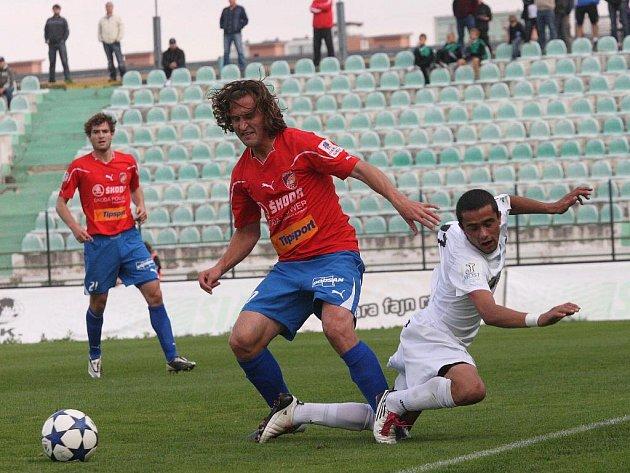Plzeň vyhrála v poháru v Mostě.