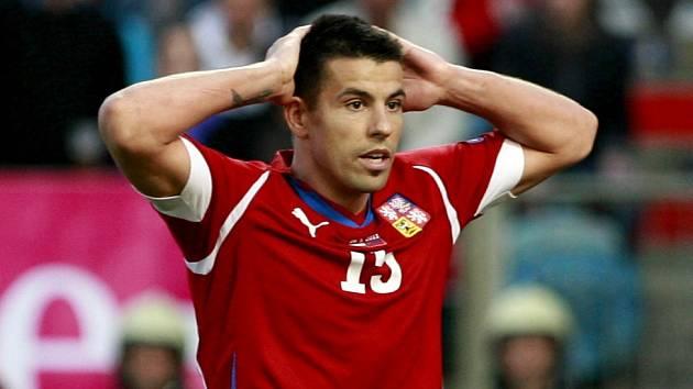 Milan Baroš ještě v dresu české reprezentace
