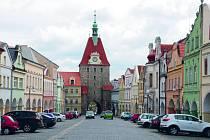 Dolní brána v Domažlicích.