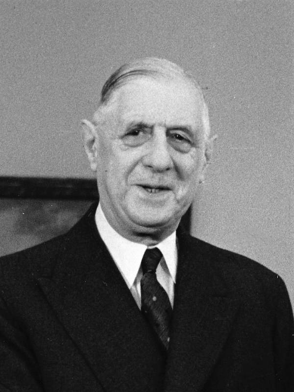 Prezident Charles de Gaulle v roce 1963