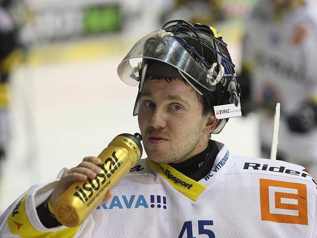 Gólman Vítkovic Roman Málek
