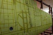 Renovace letounu Spitfire AR501: říjen 2012