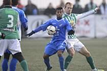 Carlos de Azevedo z ostravského Baníku je zatím nejrychlejším fotbalistou jarní části Gambrinus ligy.
