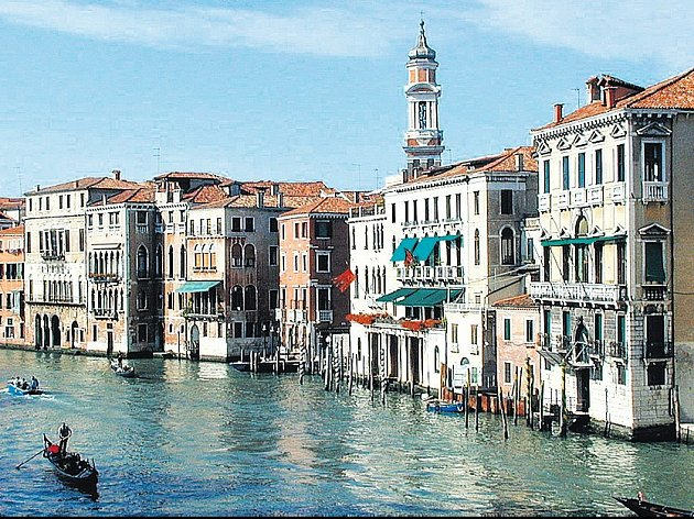 Venezia. Město lákající svou romantikou.