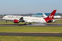 Boeing 787 Dreamliner společnosti Virgin Atlantic. Ilustrační foto.