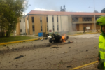 Na policejní akademii v Bogotě zaútočil sebevražedný atentátník.