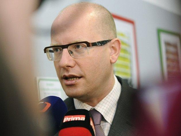 Předseda vlády a ČSSD Bohuslav Sobotka.