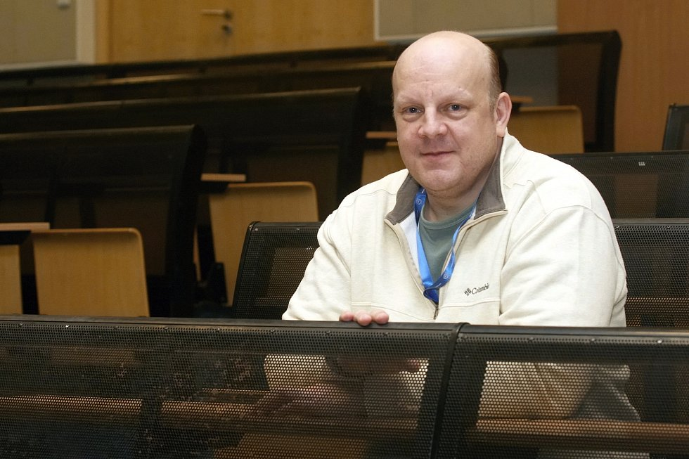 Český vědec David Bělohrad