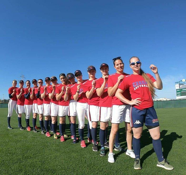 České softbalistky mají stále šanci vybojovat si účast na olympiádě v Tokiu