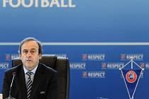 Prezident UEFA Michael Platini.