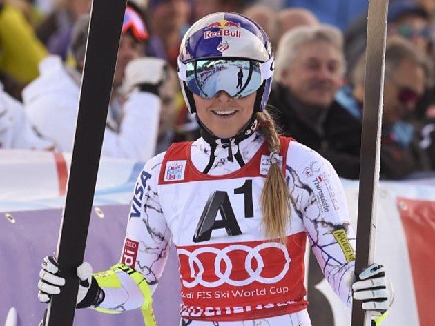 Lindsey Vonnová triumfovala v super-G SP v Zauchensee.
