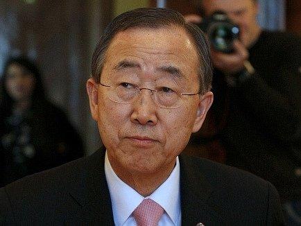 Bývalý generální tajemník OSN Pan Ki-mun