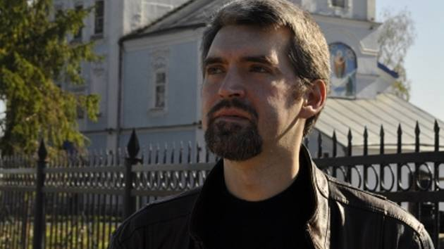 Pravoslavný kněz Sergej Baranov.