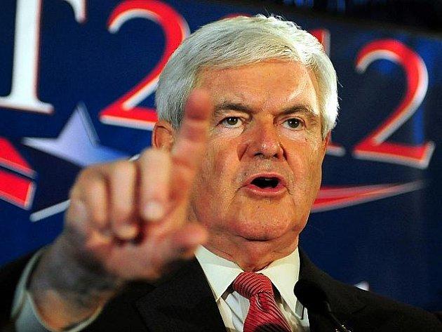 Bývalý šéf Sněmovny reprezentantů Newt Gingrich.