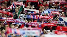 Čeští fanoušci ve Wembley