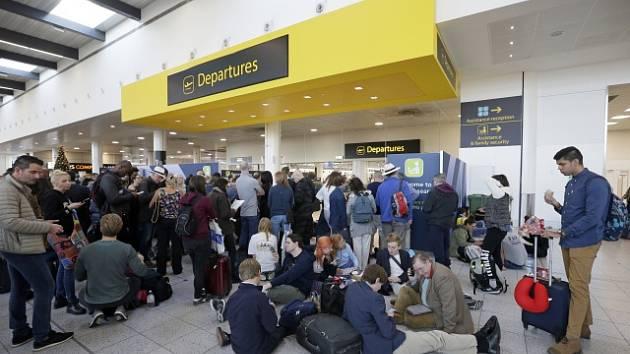 Londýnské letiště Gatwick