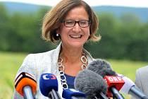 Rakouská ministryně vnitra Johanna Miklová-Leitnerová.
