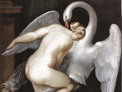 Slavní obraz Léda s Labutí