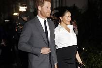 Britský princ Harry s manželkou Meghan na snímku ze 7. února 2019
