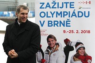 Předseda ČOV Jiří Kejval.