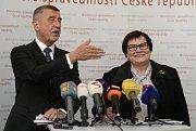 Předseda vlády Andrej Babiš uvedl 30. dubna 2019 v Praze do funkce ministryni spravedlnosti Marii Benešovou