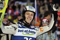 Český letec na lyžích Roman Koudelka se v Harrachově dočkal životního úspěchu.