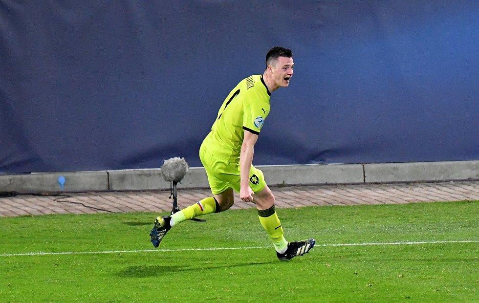 Utkání Mistrovství Evropy do 21 let Slovinsko - Česko