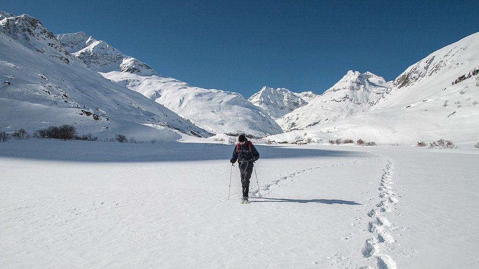 Sněžnice jsou kmání nejen ve variantách pro děti a ženy, ale také pro adrenalinové sportovce.