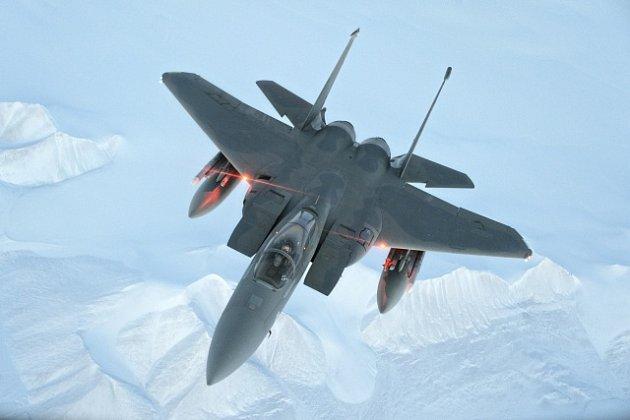 Americký stíhací letoun F-15