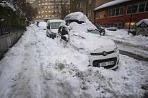 Ve švédském hlavním městě napadlo ve středu nejméně 30 centimetrů sněhu, což je víc, než v kterýkoli jiný listopadový den od roku 1905.