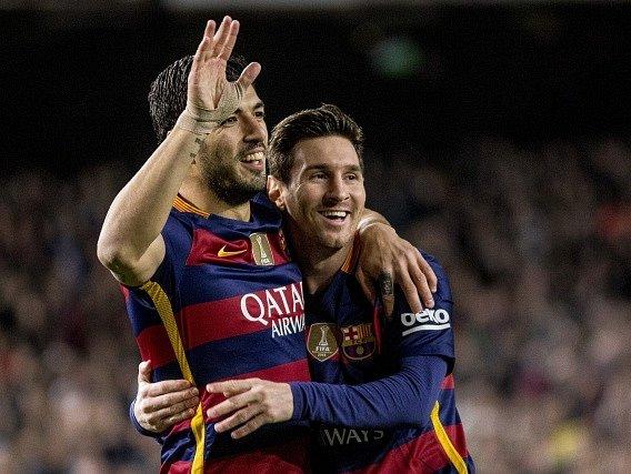 Lionel Messi a Luis Suárez zase řádili
