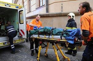 Jana Třísku převezli po pádu z Karlova mostu do střešovické nemocnice