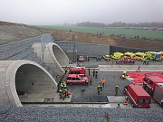 Stavba tunelu Ejpovice mezi Plzní a Prahou