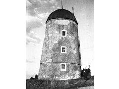 větrný mlýn u Třebíče